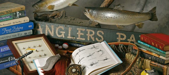 anglers parlor still life